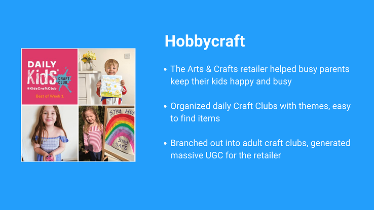 Tips from Hobbycraft on how they increased customer loyalty during the lockdowns