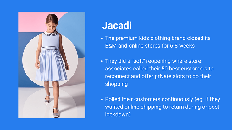 Tips from Jacadi on how they reopened faster thanks to their brand community