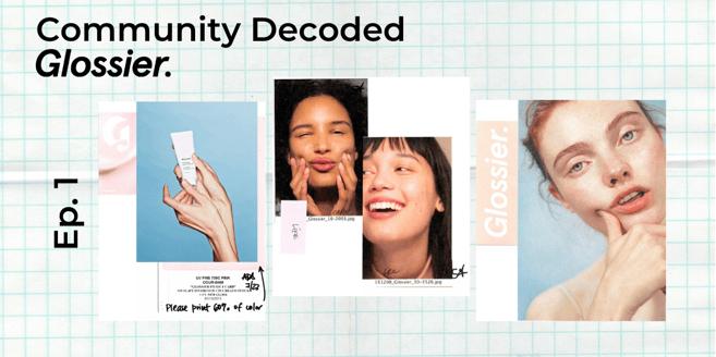 Glossier-Community-banner