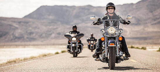 The Harley-Davidson customer community ride and meet up together, and is one of the biggest brand communities worldwide