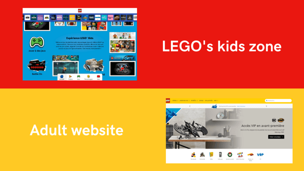 Lego adapts its community offer to target audiences