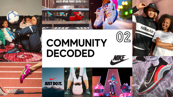 Analyzing Nike's brand community strategy of athletes and sneaker fans.