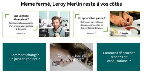 leroy merlin homepage
