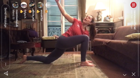 neoness yoga class