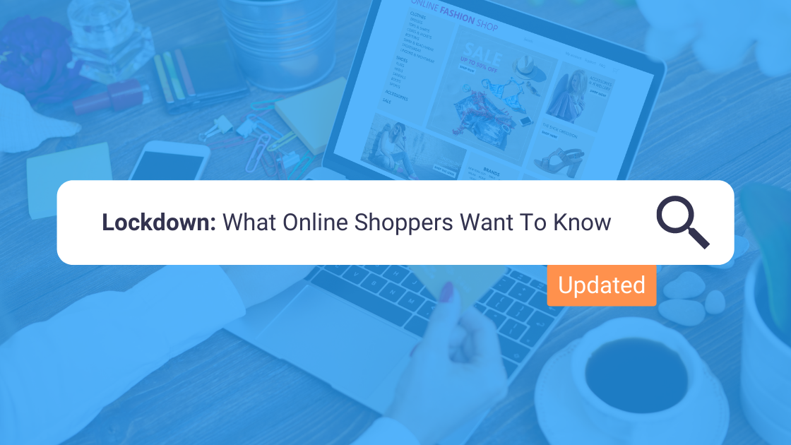 Frequently asked questions by online shoppers during the pandemic